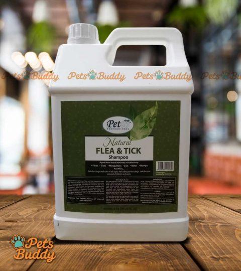 Petto Professional Natural Flea & Tick Shampoo 4liters