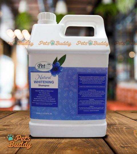 Petto Professional Natural Whitening Shampoo 4liters
