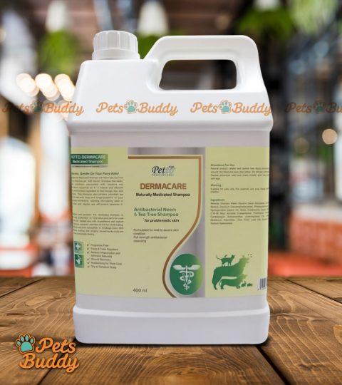 Petto Professional Dermacare Medicated Neem & Tea Tree Shampoo 4liters