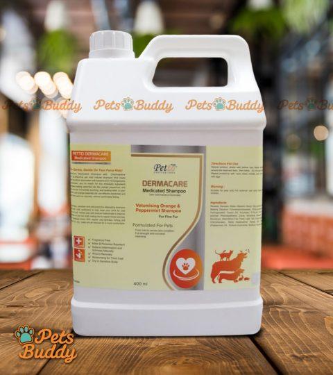 Petto Professional Dermacare Medicated Orange Shampoo 4liters