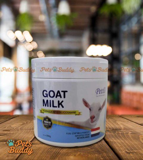 Petto Professional Glucosamine Goat Milk 250ml