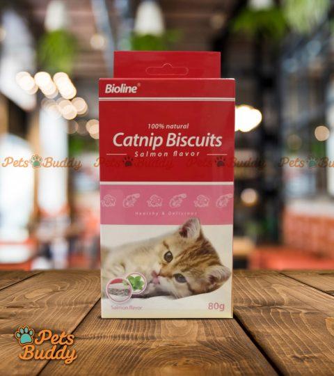 Bioline Catnip Biscuits (Salmon) 80g