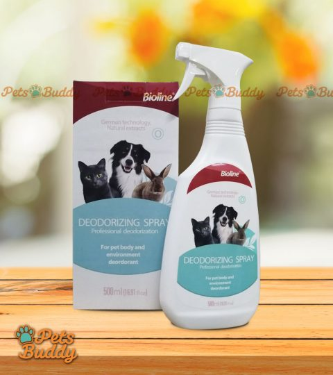 Bioline Deodorizing Spray For Pets Body And Environment 500ml