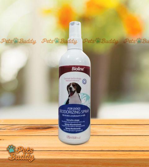 Bioline Deodorizing Spray For Dogs 175ml