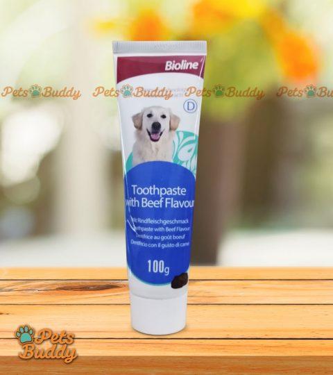 Bioline Toothpaste Beef Flavor 100g