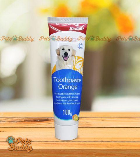 Bioline Toothpaste Orange Flavor 100g