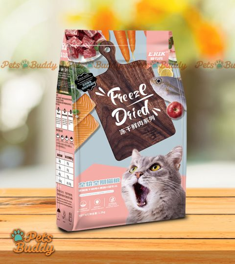 Erik Freeze Dried Cat Food (all Life Stages) 1.5kg